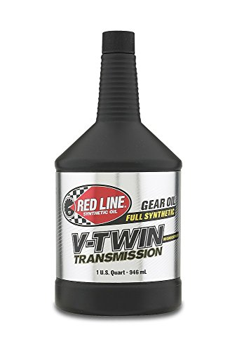 Red Line RED42804 V-Twin Transmission Oil, 1 Quart, 1 Pack