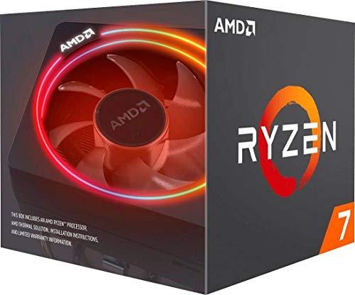 AMD Ryzen 7 3700X con enfriador de prisma Wraith