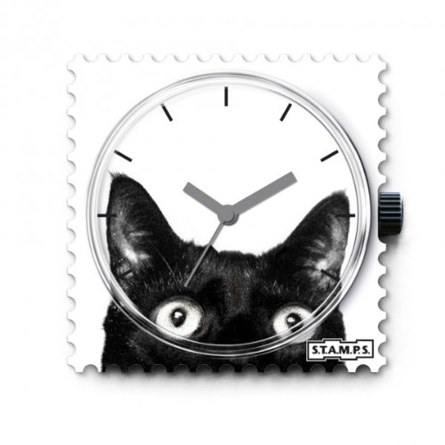 Stamps Unisex Analog Quarz Uhr mit None Armband 100164