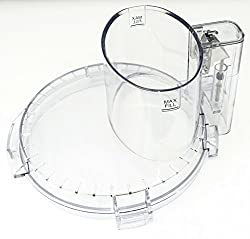 commercial Cuisinart Food Processor Bowl Lid (DFP-14NWBCT1) cuisinart replacement bowl