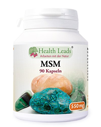 MSM (Methylsulphonylmethan) 550 mg x 90 kapseln