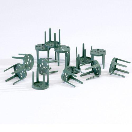 Packung mit 100 OASIS® Grün Plastik Stift Halter