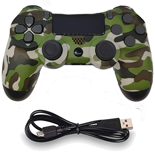 Kabellose Controller für PS4 Playstation 4 Dual Shock Sechsachse, Bluetooth-Fernbedienung, Gamepad, Joystick (grün)