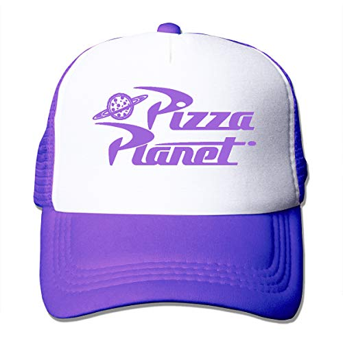XNLHQH IJ Pizza Planet Logo Trucker Hat Baseball Cap Dad Hat Adjustable Size