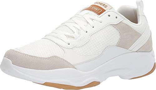 Skechers Zapatos de hombre City Sport Shoe. Suede, Cuero liso