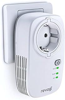 SmartPlug Revogi – stopcontact, netwerk, WiFi, intelligente schakelaar, draadloos, snelheid, programmering, afstandsbedien...