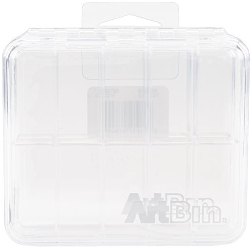ArtBin Slim Line 10-Compartment, Clear, 2-Pack, 2 Piece