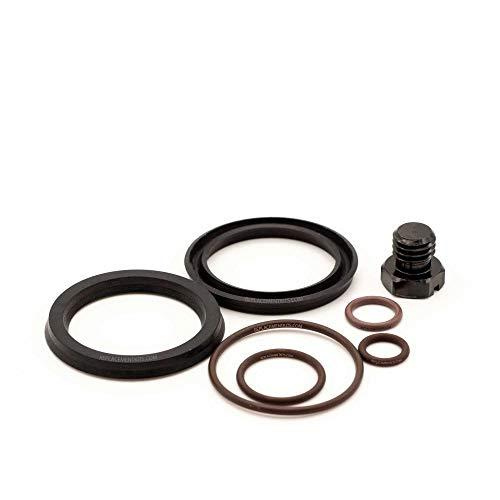 REPLACEMENTKITS.COM - Brand Fits Duramax 6.6L Fuel Filter Primer Rebuild Seal Kit with Viton O-Rings