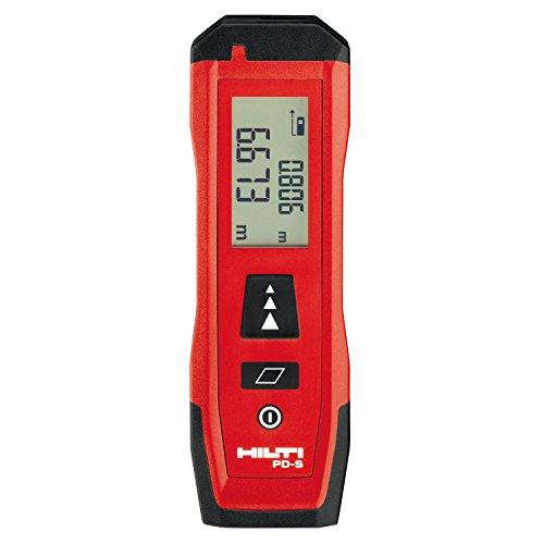Hilti PD-S Laser-Entfernungsmesser, 60 m, Handmessgerät, Entfernungsmesser, mit Flächenmessung, Highlightanzeige-Messwerkzeug