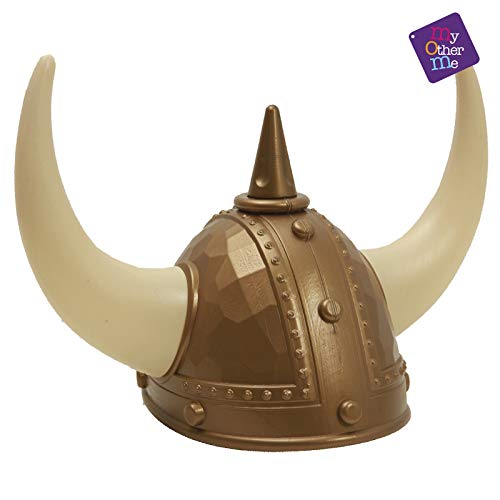 My Other Me - Casco de vikingo, talla única (Viving Costumes MOM01624)