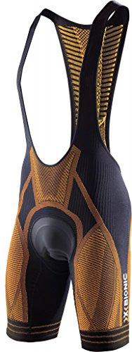 X-Bionic imperméable pour Adulte Biking on The Trick Ow Bib Short Endurance L Multicolore - Noir/Orange