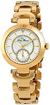 Lucien Piccard Casablanca Gold Crystal Ladies Watch