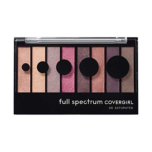 Covergirl Full Spectrum So Saturated Eye Shadow Palette, Posh
