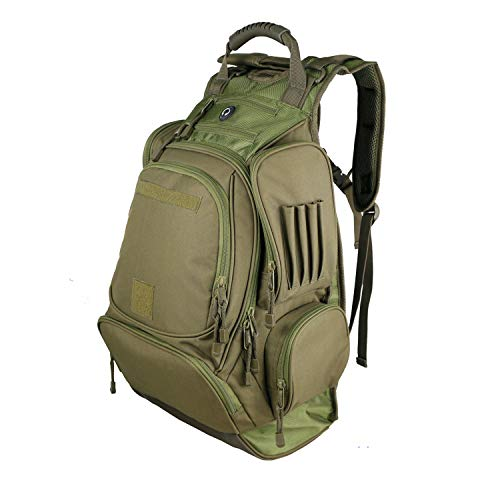 X&X Hiking Backpack with Hydration Men 40L Internal Frame Water-Resistant Pack for Outdoor Travel Camping School (Bladder no Included)