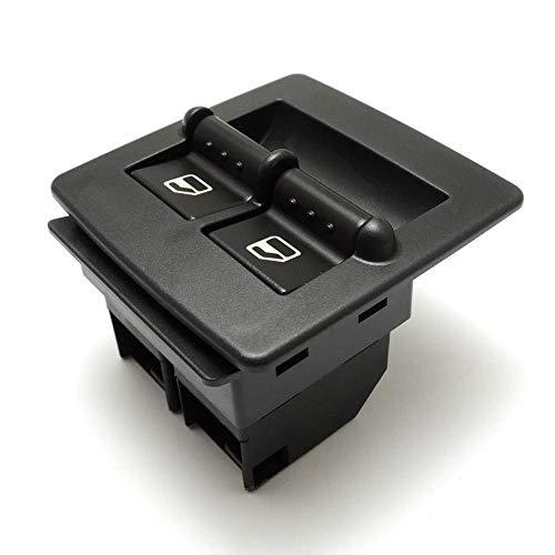 Coche Interruptores de botón 1C0959855A Interruptor de ventana maestro de energía eléctrica compatible con Volkswagen Beetle 1998-2010 1C0959855A Reemplazo del interruptor de automóvil Interruptor Ele