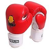 HUINING Guantes de boxeo para niños,guantes de artes marciales mixtas, guantes de entrenamiento de dibujos...