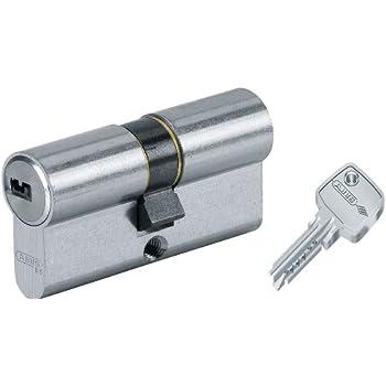 ABUS eC550 cylindre de porte longueur 30//35 mm avec 4 cl/és