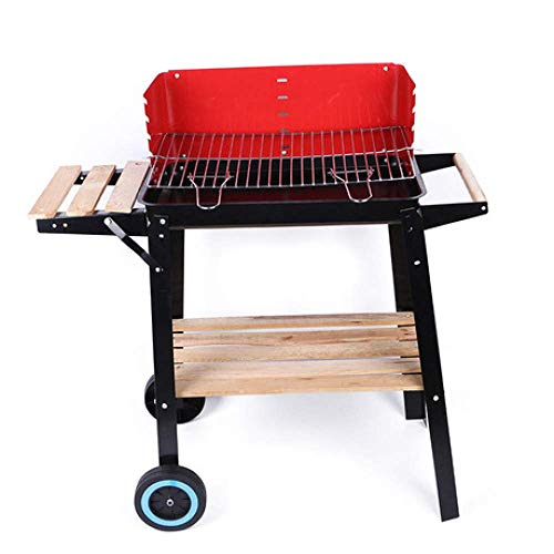 Buy Discount Zjnhl Family Gathering/Small Barbecue Easy Barbecues Set BBQ Grill Large Triangle Furna...
