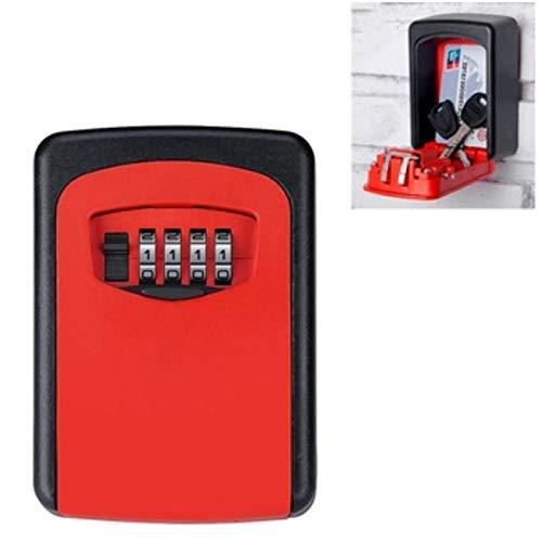 Ssiyun Caja De Seguridad Portátil para Vehículos, Caja De Seguridad