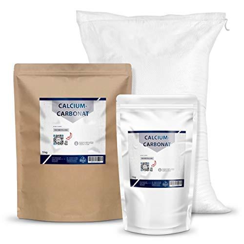 Calciumcarbonat, 1 Kg | Kalziumkarbonat, Kalk, kohlensaurer Kalk, Kreide (1, 5, 25 Kg)