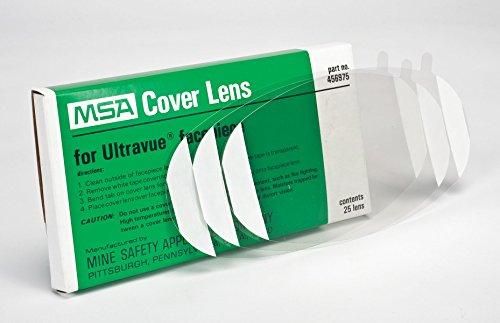 MSA 456975 - Juego de lentes (25 unidades), transparente
