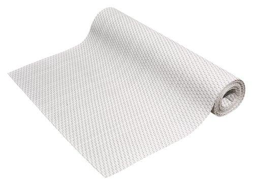 Gartenfreude Brise-Vue en résine tressée pour Balcon ou clôture, à découper, œillets de Fixation Compris, de Couleur Blanc, 5 x 0,75 m