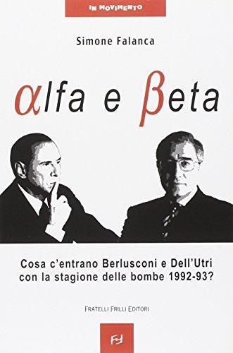 Alfa e beta. Cosa c'entrano Berlusconi e Dell'Utri con la stagione delle...
