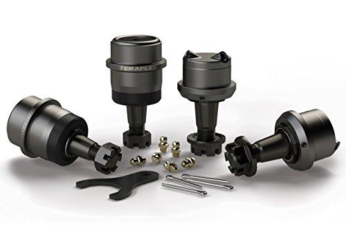 TeraFlex 1353100 TJ/YJ/XJ/ZJ Dana 30/44 Premium Series - Juego de 4 rótulas
