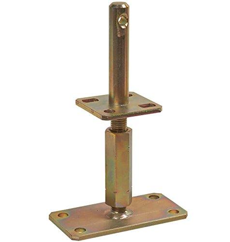 1 Stück profiBAUline Pfostenträger Typ I (Typ: Z) höhenverstellbar zum aufdübeln