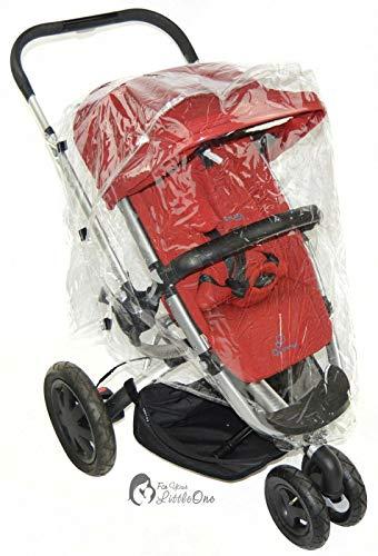 Regenschutz Kompatibel mit Buggy Quinny Zapp (142)