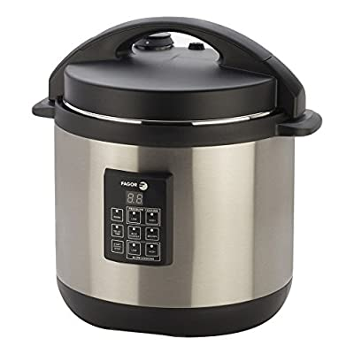 Fagor 670040230 Stainless-Steel 3-in-1 6-Quart Multi-Cooker