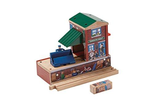 Mattel Fisher-Price BDG09 - Thomas und seine Freunde Holzeisenbahn - Tidmouth Station