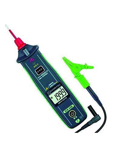WEI-LUONG Tester del medidor de Resistencia Kyoritsu 4300 Probador de Resistencia a la Tierra simplificado, 200/2000 ohmios Instrumento de medición