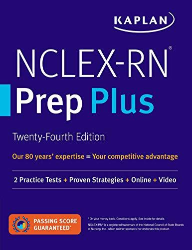 NCLEX-RN Prep Plus: 2 Practice Tests + Proven Strategies + Online + Video