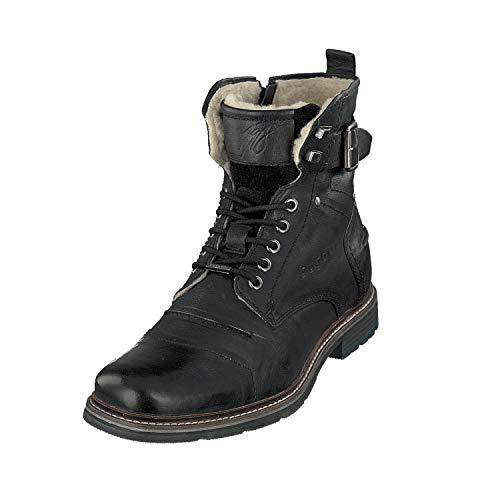 bugatti Herren 321622513200 Klassische Stiefel, Schwarz, 44 EU