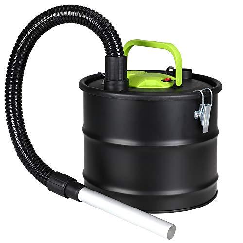 Bakaji aspirador Potencia 800 W aspira cenizas con función sopladora Filtro Interno Hepa Capacidad Depósito 15 lt para limpieza