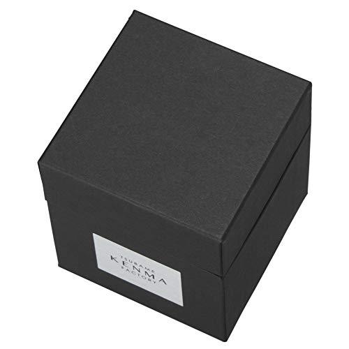 【包装紙ラッピング済】ステンレスカップ 約直径7.7×高さ8.8cm 燕研磨ファクトリー 340ml (包装紙ネイビー)