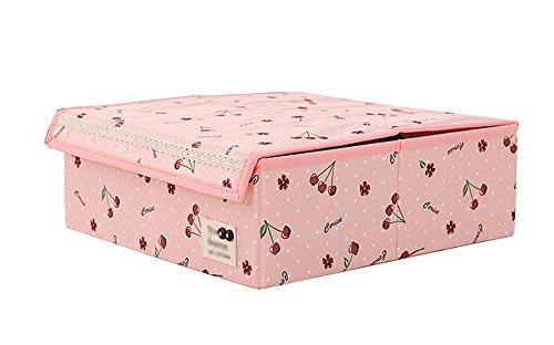 JIANGU ondergoed ondergoed opbergdoos, opbergdoos, beha dozen, sokken opbergdoos, een box cover en water wassen behandeling