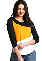 AELO Womens Cotton Round Neck Full Sleeve Top