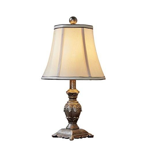 Best wishes shop lampada da tavolo- Lampada da tavolo in stile americano vintage Nuovo studio di soggiorno in stile classico Lampada da tavolo in resina creativa E27