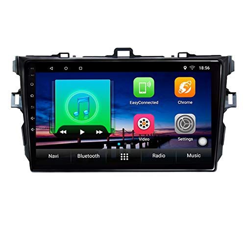Android 10,0 Reproductor Multimedia de DVD para Coche GPS para Toyota Corolla 2003 2004 2005 2006 2009 2010 11 navegación estéreo de Radio de Coche de Audio