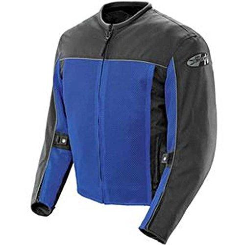 Joe Rocket Herren 1254-0203 Velocity Mesh Motorradjacke, blau, Medium