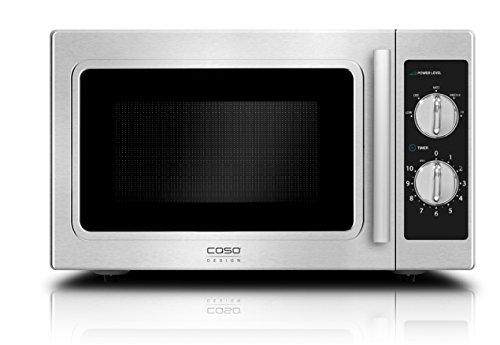 Cas cm 1000 – Four micro-ondes professionnel, 29 L, Couleur Argent