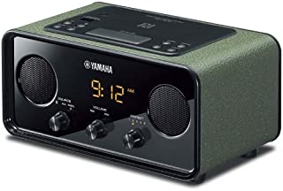 YAMAHA雅马哈 TSX-B72 蓝牙2.1复古音响 收音?#33267;?桌面音箱 深绿色 (亚马逊自营商品, 由供应商配送)