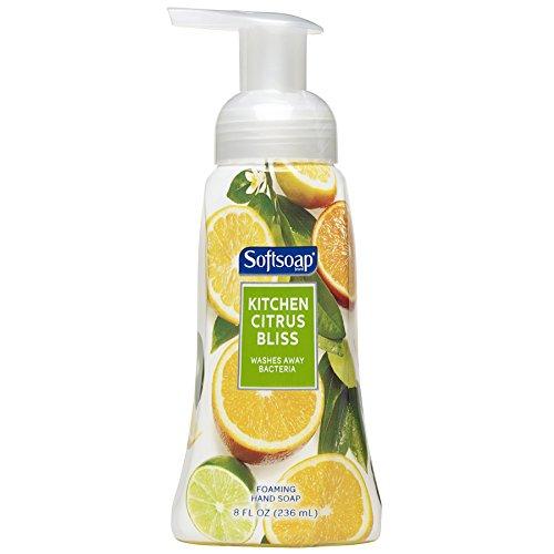 Softsoap Foaming Hand Soap, Kitchen Citrus Bliss, 8 Ounce (29280)