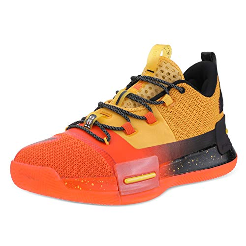 PEAK Mens Flash Basketball Shoes Lou Williams Underground Taichi Adaptive Cushioning Sneakers Non-Slip Sports Shoes for Running, Walking, Fitness