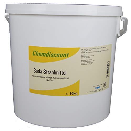 10 kg Soda als Strahlmittel Strahlgut zum Sodastrahlen, Backsodastrahlen, Strahlsoda