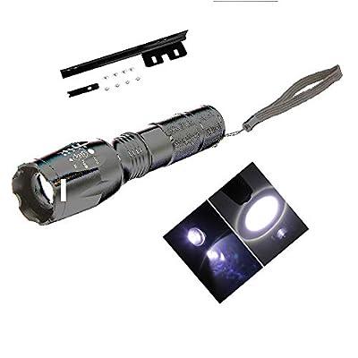 Angotrade Grenn 300m Strong Flashlight Focus Light for 26 Inch 36V Mountain Bike
