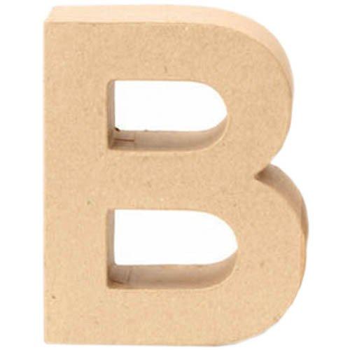 Papp-Buchstabe B, 17,5x5,5cm [Spielzeug]