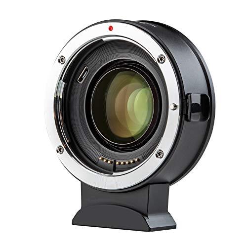VILTROX マウントアダプター EF-Z2 スピードブースター レンズ変換アダプター 画角0.71倍になる 明るさ一段階明るくなる AF瞳フォーカス 手ぶれ補正 キヤノンEFフルサイズレンズ→Nikon Zマウントカメラに装着用 EF-S (APS-C